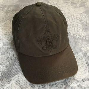 Khaki Green Boy Scout Hat